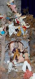 presepe al Santuario del Carmine