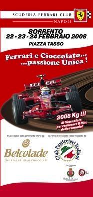 Ferrari al cioccolato
