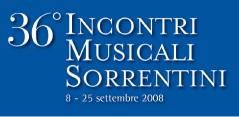 Incontri Musicali Sorrentini 2008