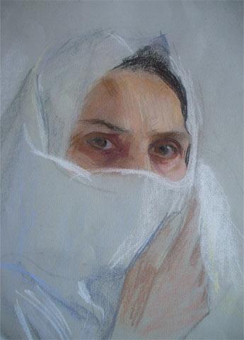 Un dipinto di Rosa Sessa