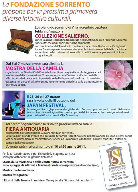 Calendario Fondazione feb-mar11