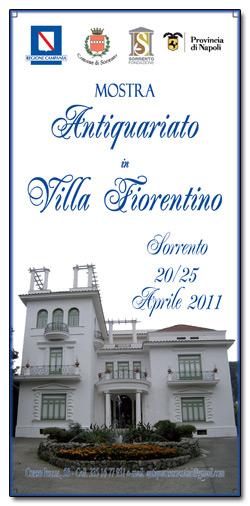 Mostra Antiquariato Villa Fiorentino