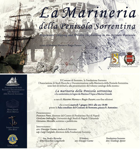 La marineria della Penisola Sorrentina