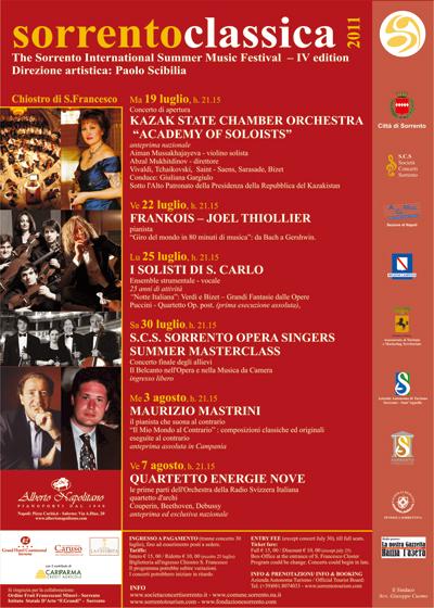 """IV edizione di """"Sorrento Classica"""""""