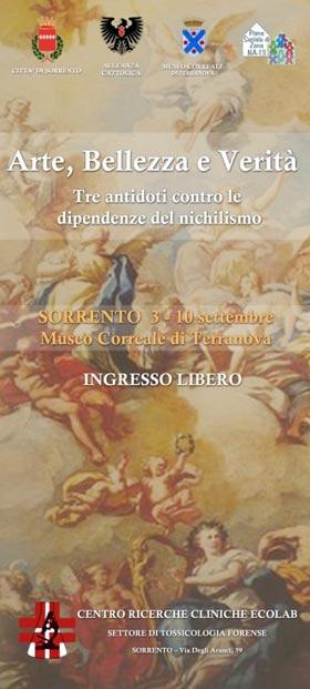 """l Museo Correale una due giorni di """"Arte, bellezza e verità"""""""