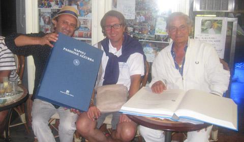 Antonio Cafiero con Raffaele Auriemma e Bruno Barbato
