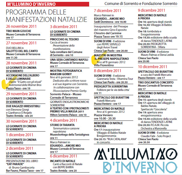 M'Illumino D'Inverno 2011 - Pagina 1
