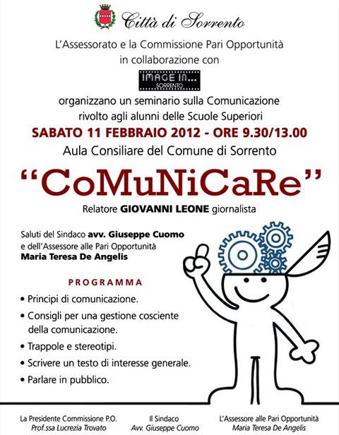 A Sorrento un seminario sulla comunicazione