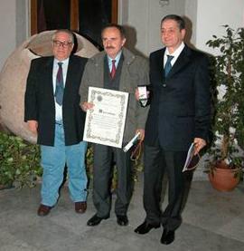 Antonino Fiorentino con Antonino Siniscalchi e Mariano Russo
