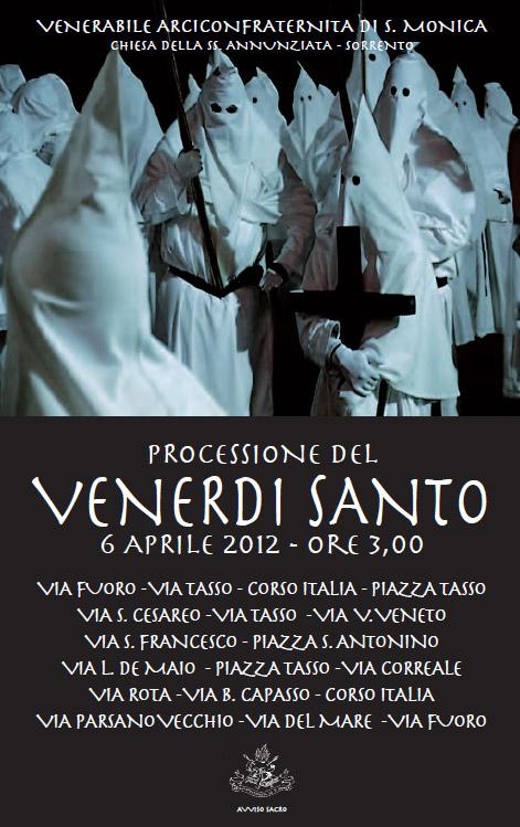Processione del Venerdì Santo 2012