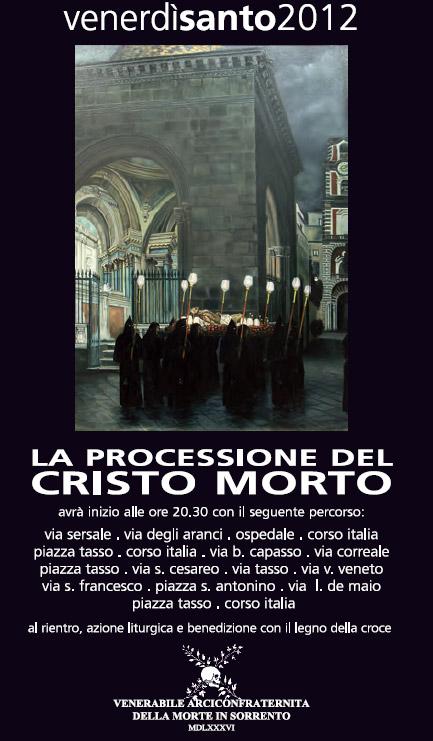 Processione del Cristo Morto 2012
