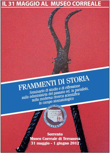 Locandina - Frammenti di Storia