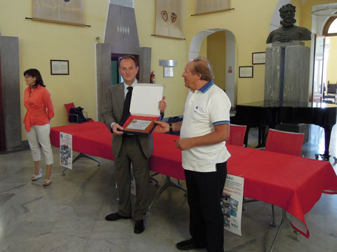 L'Association Europeenne des Cheminots in visita al Comune di Sorrento