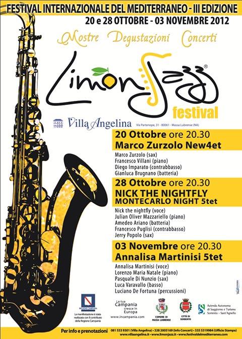 Jazz, Limone e Mediterraneo