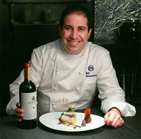 Luigi Tramontano nuovo chef all'Excelsior Vittoria di Sorrento