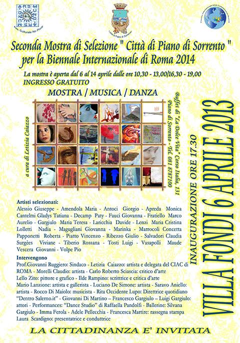 Villa Fondi tra arte e musica: al via la II selezione per la Biennale romana