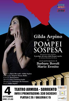 "Sorrento Venerdi 04.10.13 rivive la ""Pompei sospesa"""